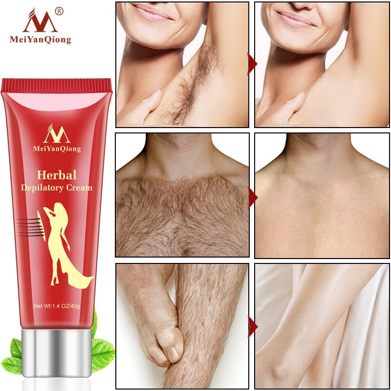 Female Male Herbal Depilatory Cream Hair Removal Gearbeauty