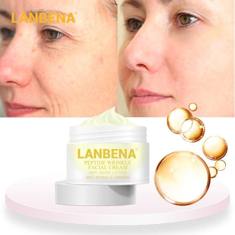 LANBENA Retinol Eye Mask Hyaluronic Acid Eye Patches Serum ...